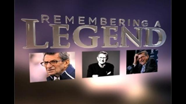Remembering Paterno from Before He was a Legend