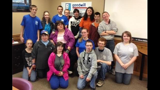 Clearfield High School Students Work Experience at Goodwill