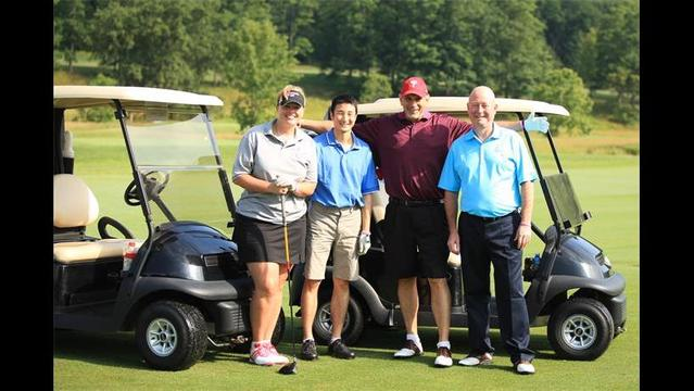 Inaugrual Golf Outing Helps Make Strides One Swing at a Time