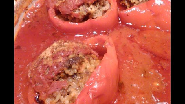 Uncle Fred's Famous Stuffed Peppers