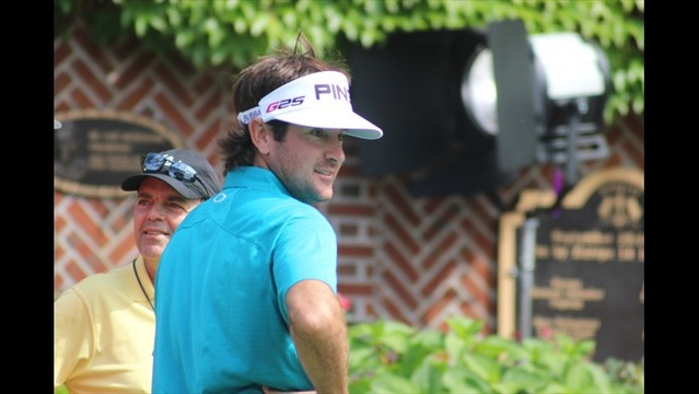 Bubba Watson in Pittsford for his Oak Hill Debut