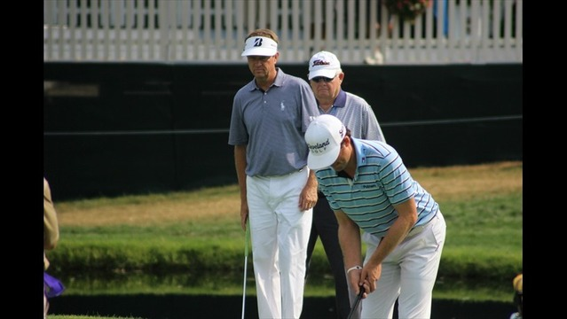 Keegan Bradley and Davis Love III Pair Up Wednesday