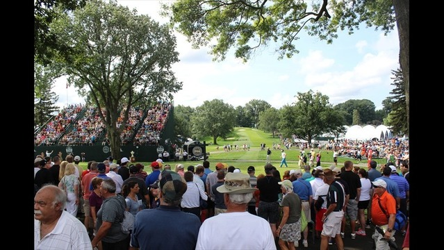 Fans Flock to Oak Hill Early for First Round of PGA