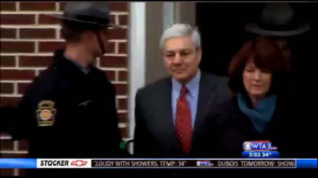 Trial scheduled to begin for former Penn State president Graham Spanier