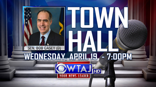 Live Town Hall with Sen. Bob Casey
