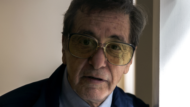Al Pacino as Joe Paterno is staring into your soul