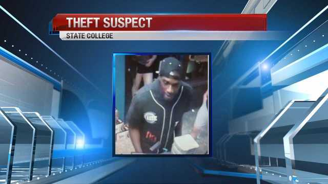 Police searching for theft suspect