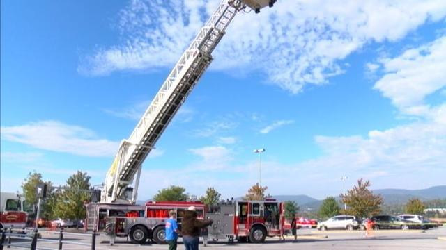 Departments join together for fire safety day