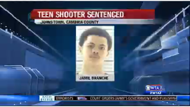 Teen shooter sentenced