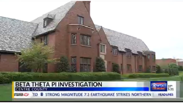New information in Beta Theta Pi Investigation