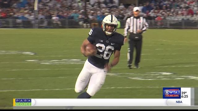 Saquon Barkley named college football's 'most versatile' player
