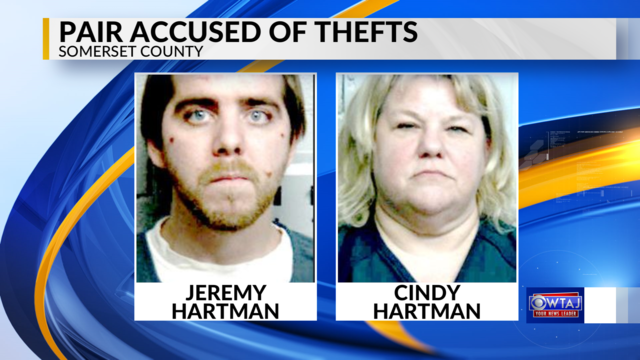 Pair accused of stealing televisions