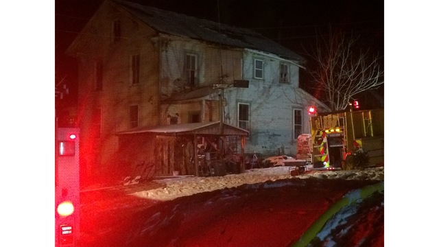 Firefighter taken to the hospital after house fire
