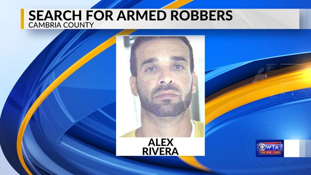 One robbery suspect in custody two more on the run