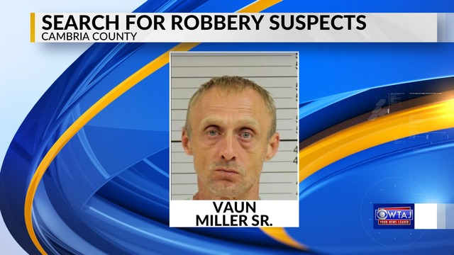 Police searching for assault and robbery suspects