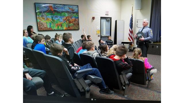 State police meet-and-greet local students