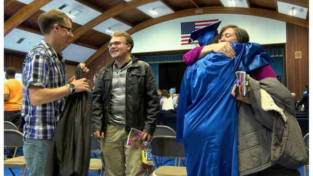Local students living with disabilities graduate