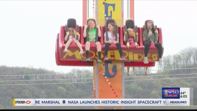 Family fun at DelGrosso's Amusement Park opening day