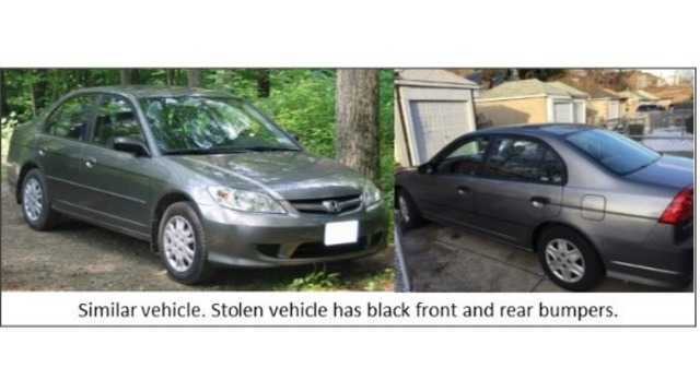 Honda State College >> State College Police Looking For Stolen Honda Civic