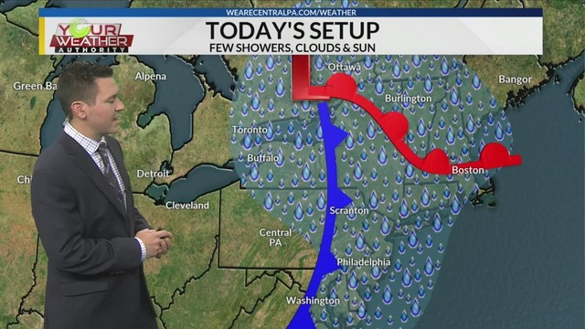 Wednesday Afternoon Weather Forecast, August 22, 2018