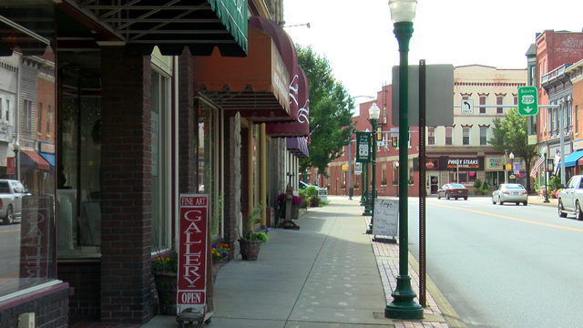 Downtown DuBois applying for grant to improve storefronts