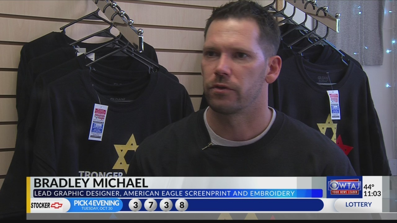949de00f1 Shirts from Johnstown Help Pittsburgh Shooting Victims