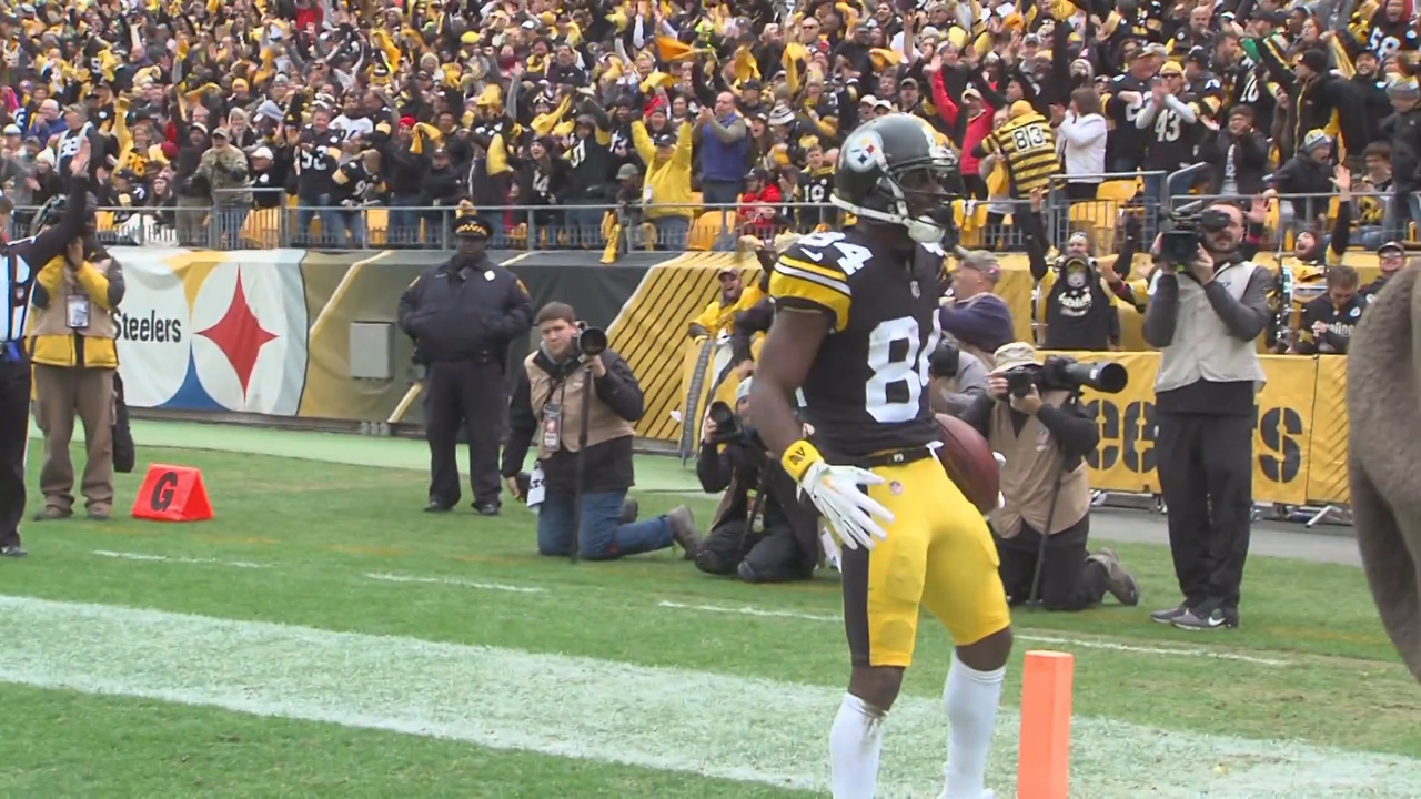 228a85b3d Report  Steelers WR Brown asks to be traded