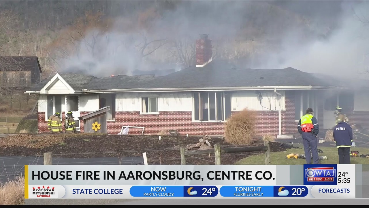 House Fire In Aaronsburg Displaces Amish Family No