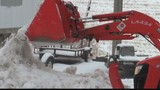 Rental snow removal equipment, a hot item at supply store