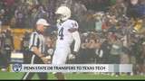 Penn State defensive back transfers to Texas Tech