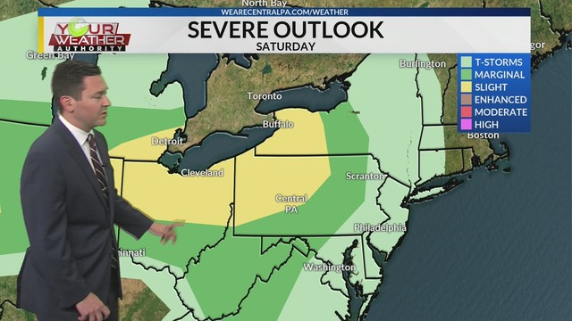 Friday Overnight Weather Forecast, May 24th, 2019