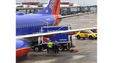 Truck hits parked plane at Pittsburgh Airport, worker hurt